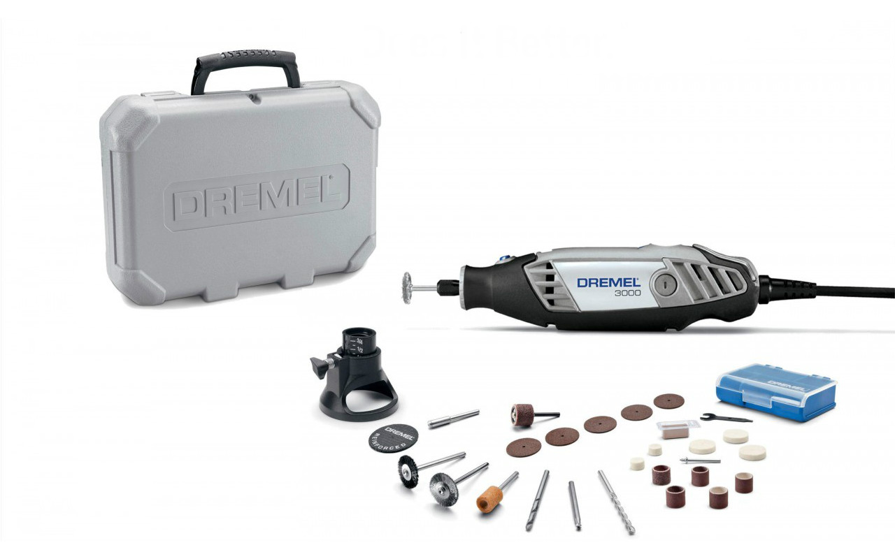 dremel 3000 series variable speed rotary tool 3000 1 24 w. Black Bedroom Furniture Sets. Home Design Ideas