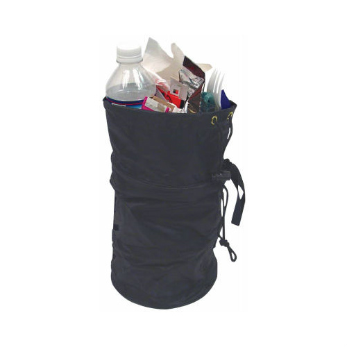 Large capacity collapsible litter bag water resistant measures overall 6 x 9 drawstring - Collapsible trash can ...