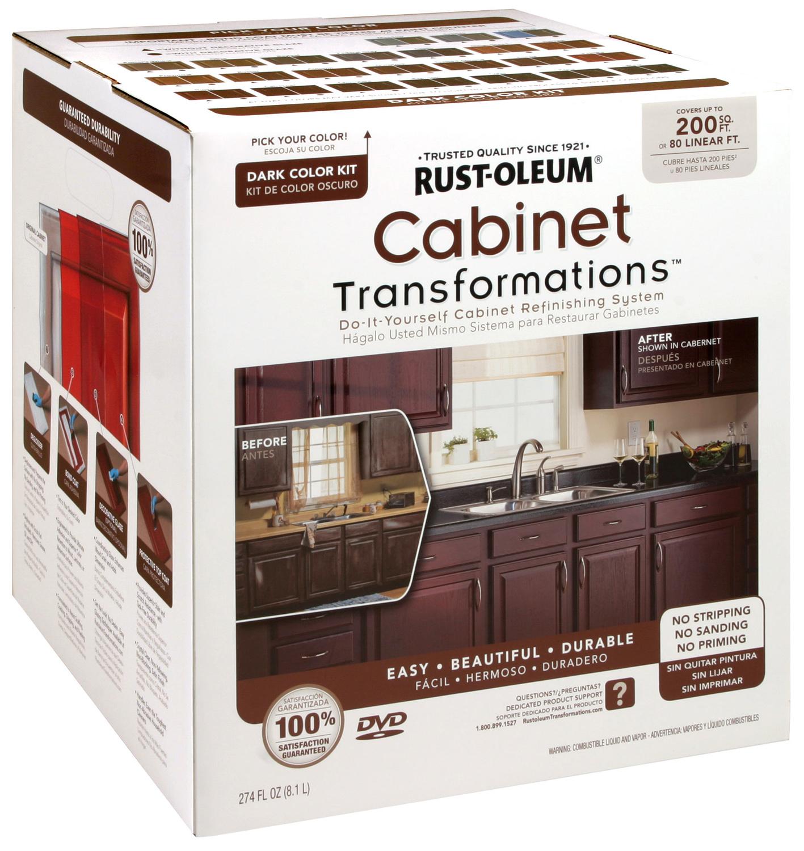 Rustoleum Kitchen Cabinet: Rust Oleum 258242 Cabinet Transformations Dark Kit Covers