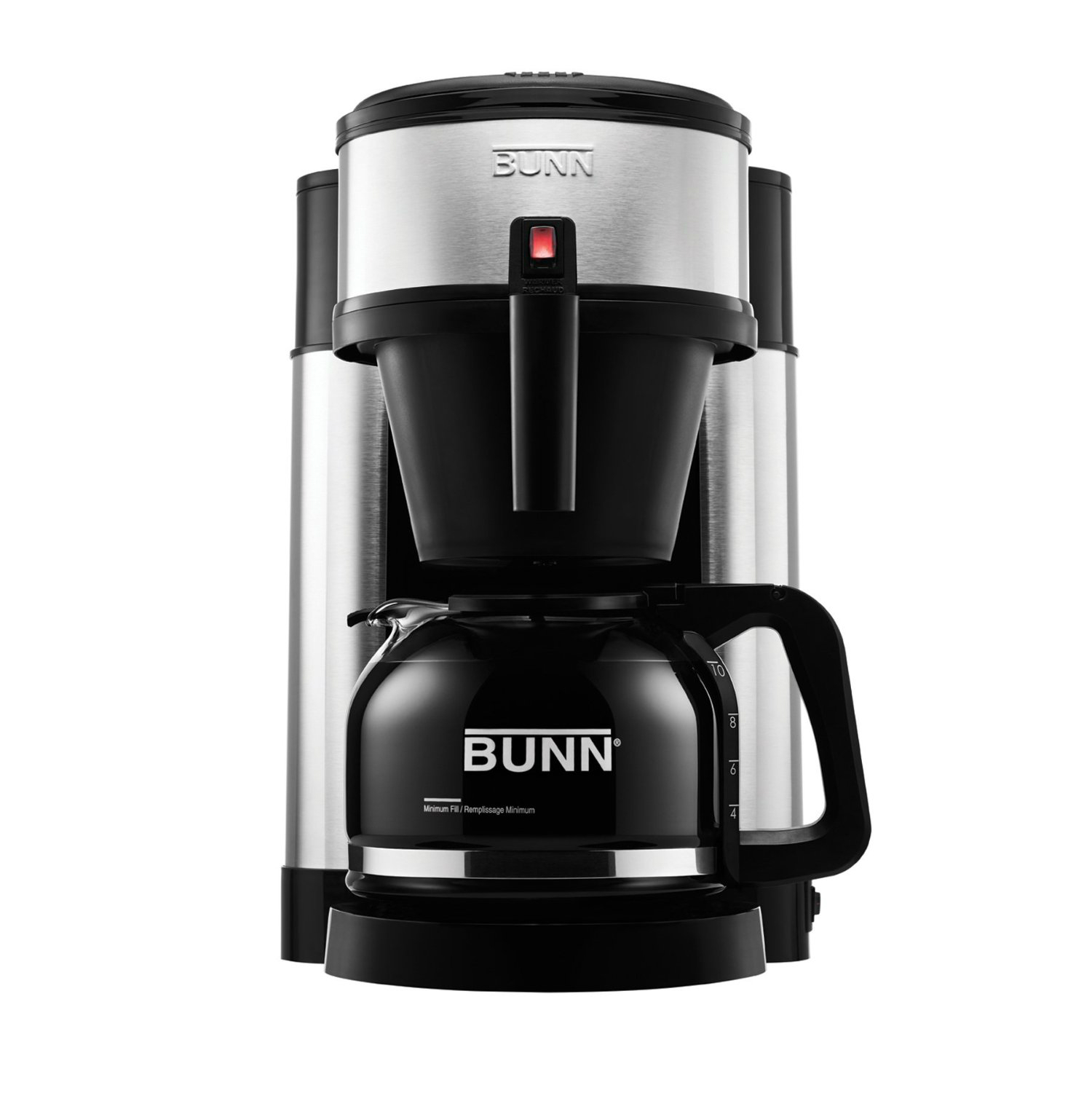 Bunn Coffee Maker Dealers : Bunn NHS 10 Cup Velocity Brew Coffee Maker Black and Stainless Brewer 72504111445 eBay