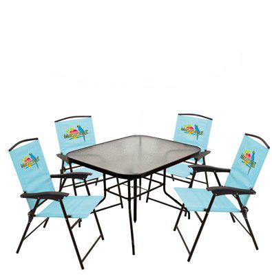 Rio Brands 630505 Ts Margaritaville Patio Set Patio Chair