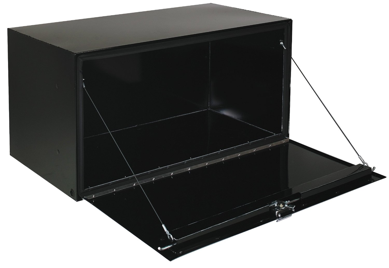 "Tool Box For Truck: Delta Pro 36"" X 18"" X 18"" Black Steel Truch Underbed Tool Box"