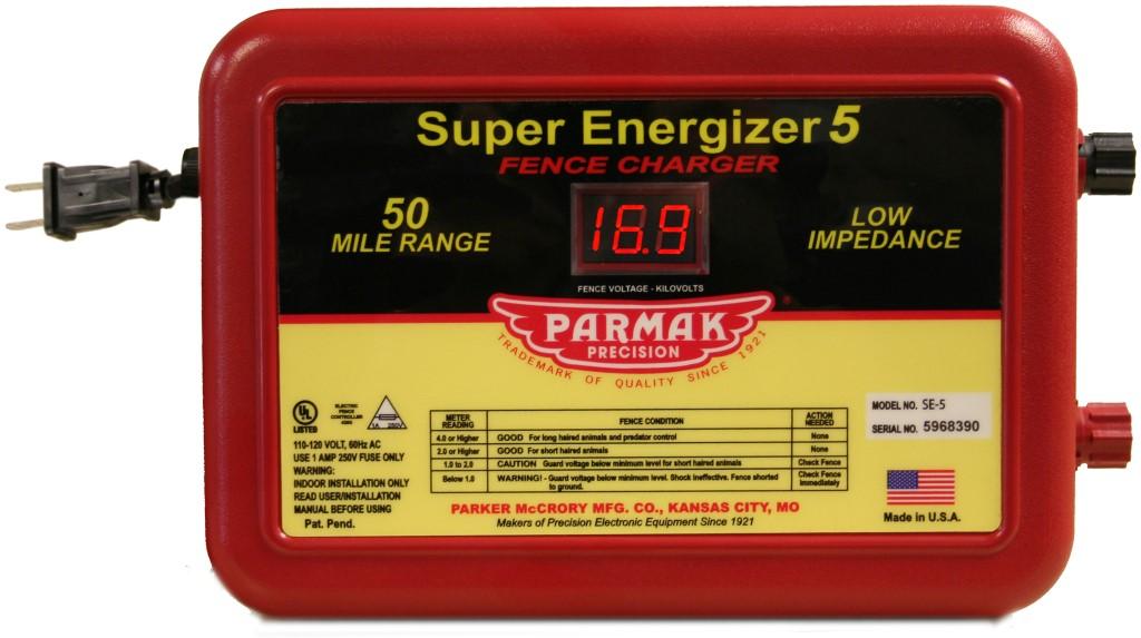 Parker Mccrory Se 5 Super Energizer 5 50 Mile Electric