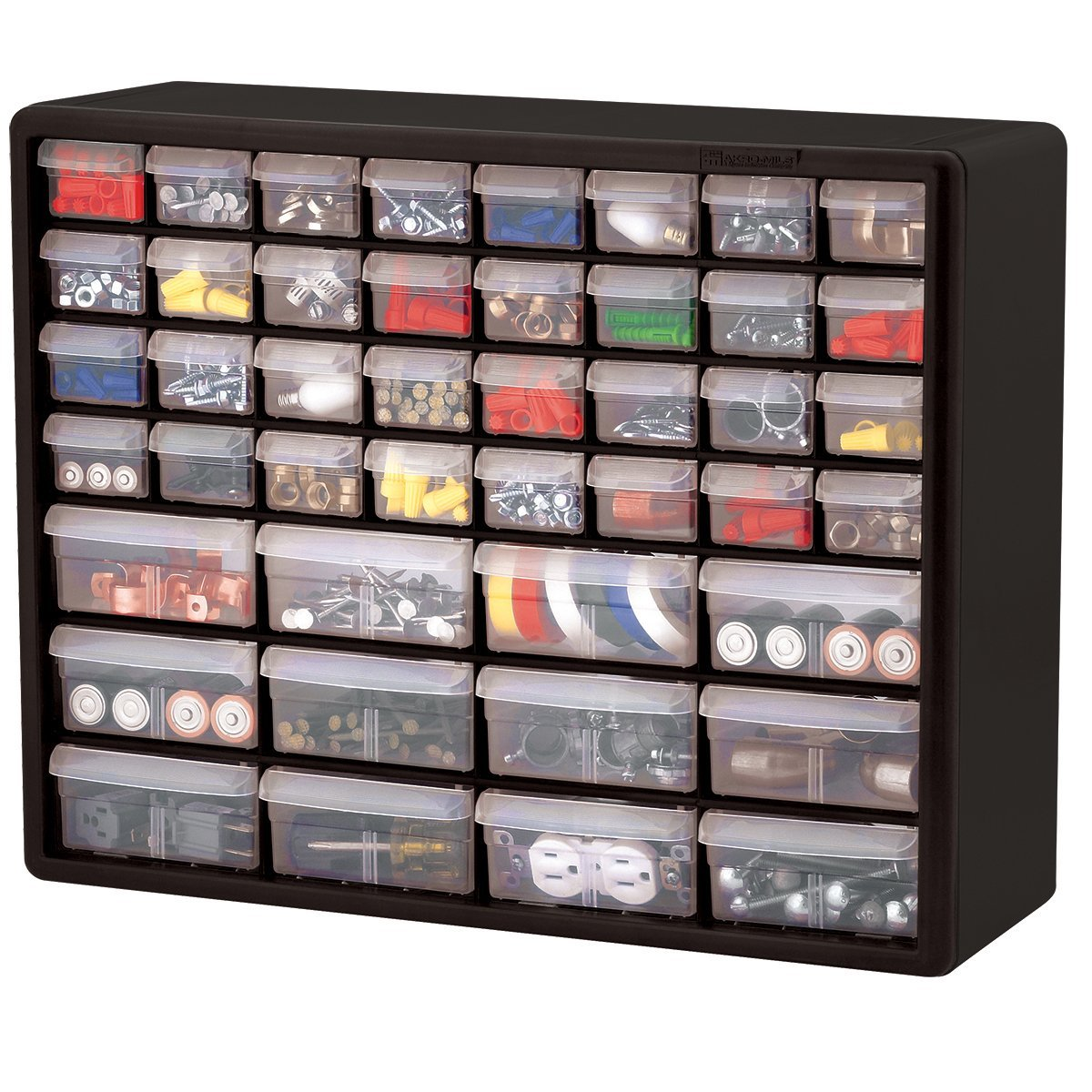 Unbreakable drawers sturdy frames offer more storage space - Organizing nuts and bolts ...