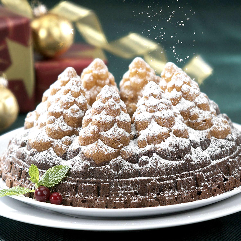 Nordic Ware 57648 Holiday Christmas Tree Bundt Cake Pan | eBay