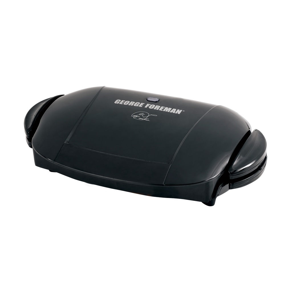 George foreman grp0004b black five serving removable plate - Largest george foreman grill with removable plates ...