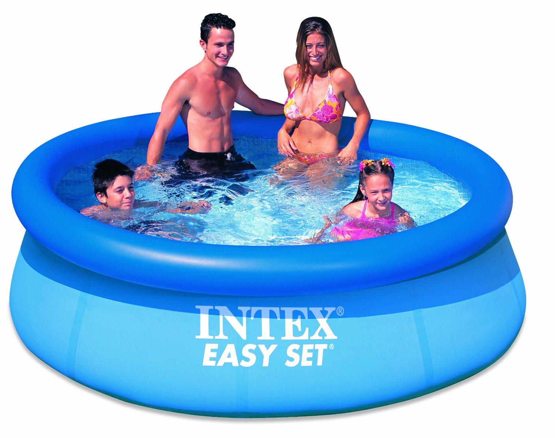 intex 56970e 8 39 x 30 easy set inflatable swimming pool ebay. Black Bedroom Furniture Sets. Home Design Ideas