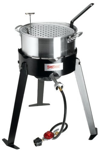 Bayou Classic 2212 10 Quart Aluminum Deep Frying Fish