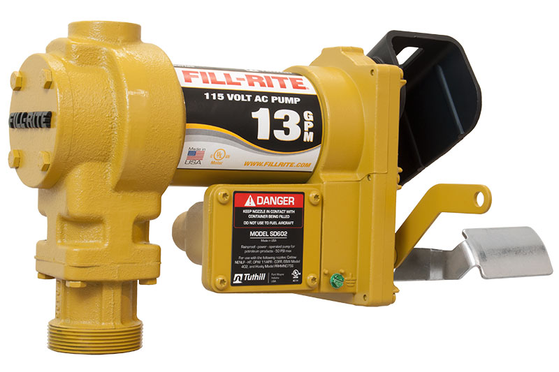 Tuthill Fill Rite SD602G Electric Fuel Transfer Pump 115