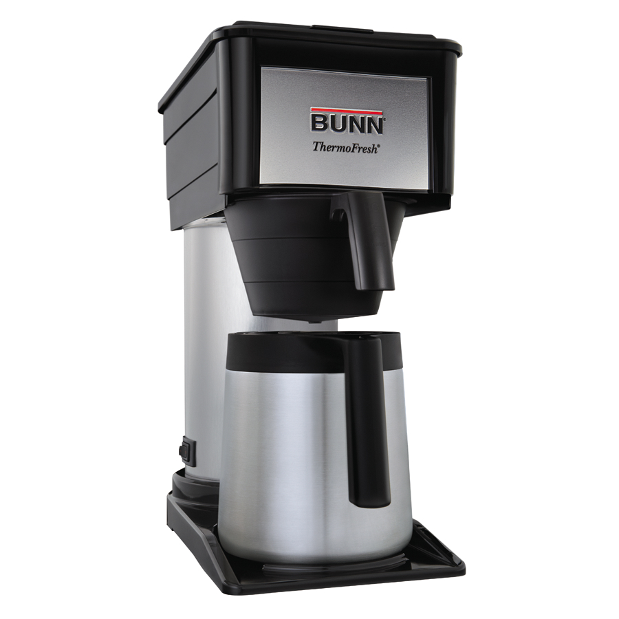 Coffee Maker With Thermal Carafe And Hot Water : Bunn 10 Cup Coffee Maker