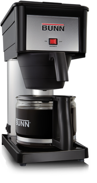 Coffee Maker Hottest Brewing Temperature : Bunn BX B 10 Cup Velocity Brew Coffee Maker Black and Stainless Brewer eBay