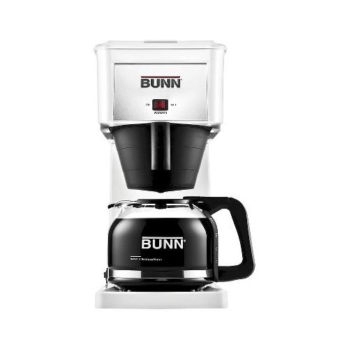 Bunn GRX w 10 Cup Velocity Brew Coffee Maker White Brewer 072504077802 eBay