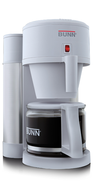 Bunn NHBX w 10 Cup Velocity Brew Coffee Maker White and Stainless Brewer 072504078014 eBay