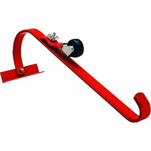 Qualcraft 2481 Steel Ladder Jack Hook W Roller Roofing