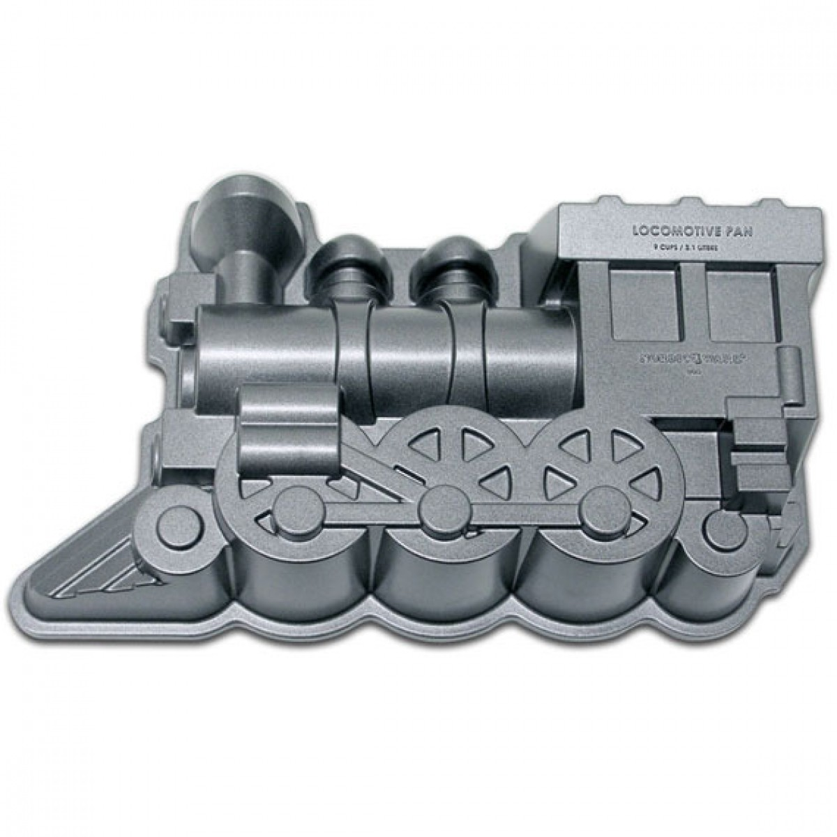 Nordic Ware 80424 Locomotive Pro-Cast Bundt Pan