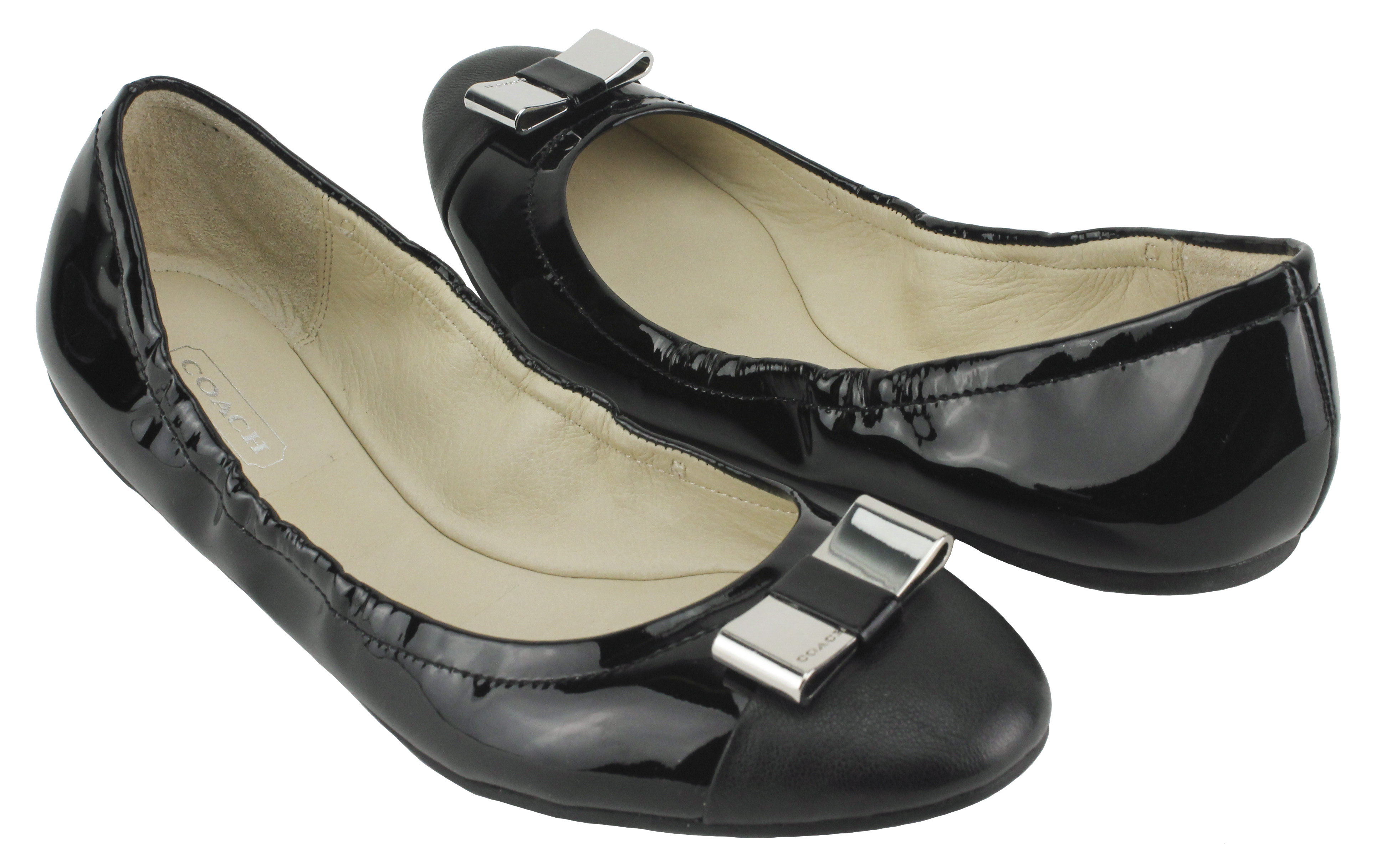 Black Coach Shoes For Women Image is loading coach-womens