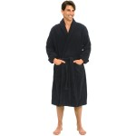 Men's Terry Cotton Bathrobe
