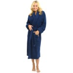 Women's Turkish Terry Cloth Robe, Thick Bathrobe