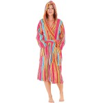 Women's 14oz Fleece Hooded Bathrobe