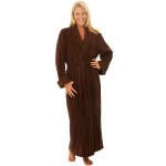 Women's Turkish Terry Cloth Robe, Long Cotton Bathrobe