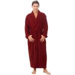 Men's Luxurious Terry Cotton Full Length Bathrobe Robe