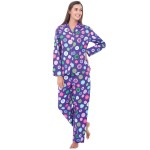 Women's Flannel Pajama Set, Long Cotton Pjs