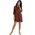 Women's Sexy 100% Cotton Flannel Nightshirt