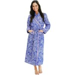 Women's Cotton Robe, Lightweight Woven Bathrobe