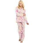 Women's Long Sleeve Cotton Pajama Set