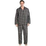Men's Flannel Pajamas, Long Cotton Pj Set