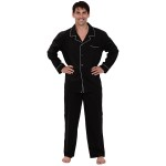 Men's Cotton Pajamas, Long Woven Pj Set
