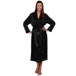 Women's Satin Robe, Long Dressing Gown