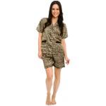 Women's Short Satin Pajamas Set