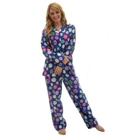 Women's Flannel Pajamas Set