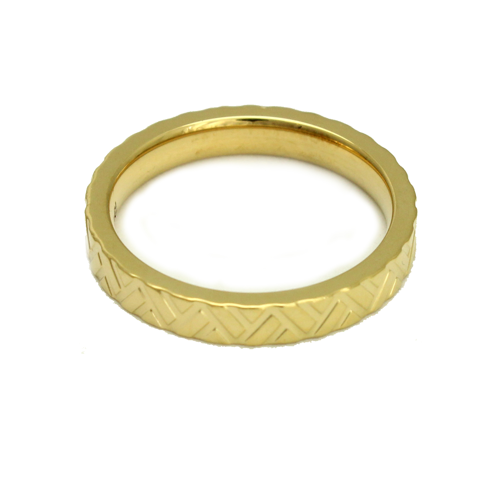 Rose Gold Plated 316L Stainless Steel Alexandria Egyptian Trendy Fashion Ring, Size 6.5