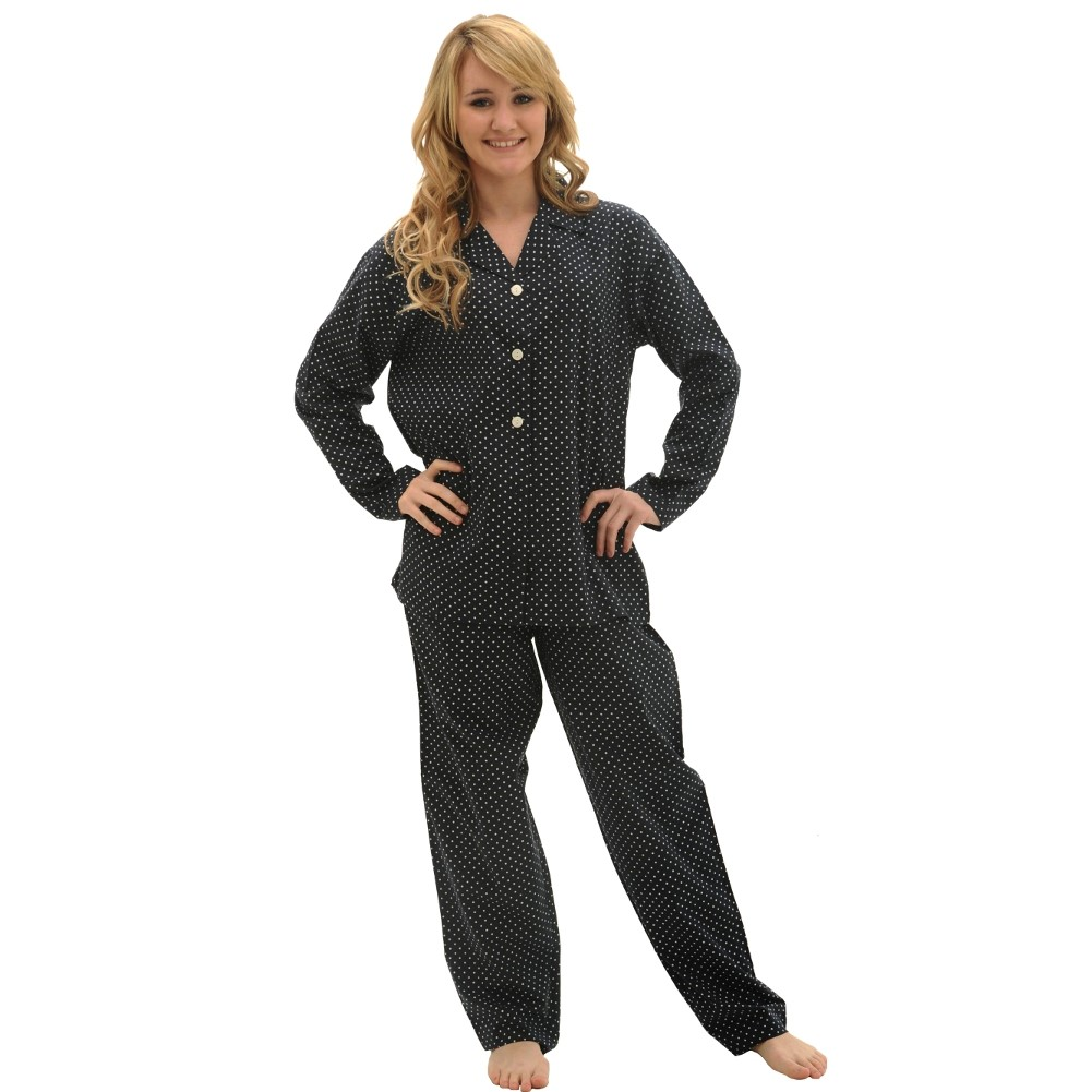 Alexander Del Rossa Women's Long Sleeve Cotton Pajama Set at Sears.com