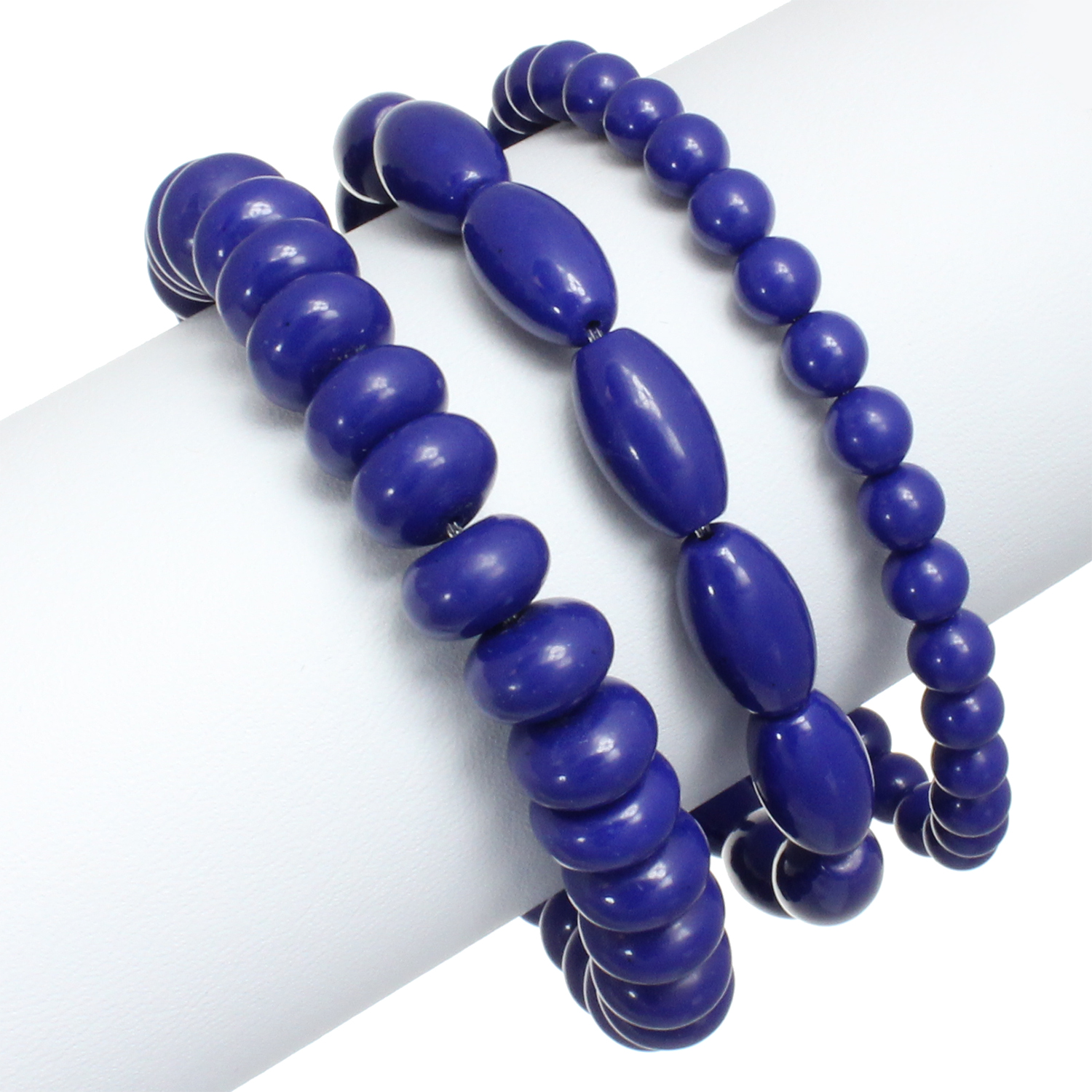 Starfish Project, Multi-Piece Indigo Stone Bracelet Set