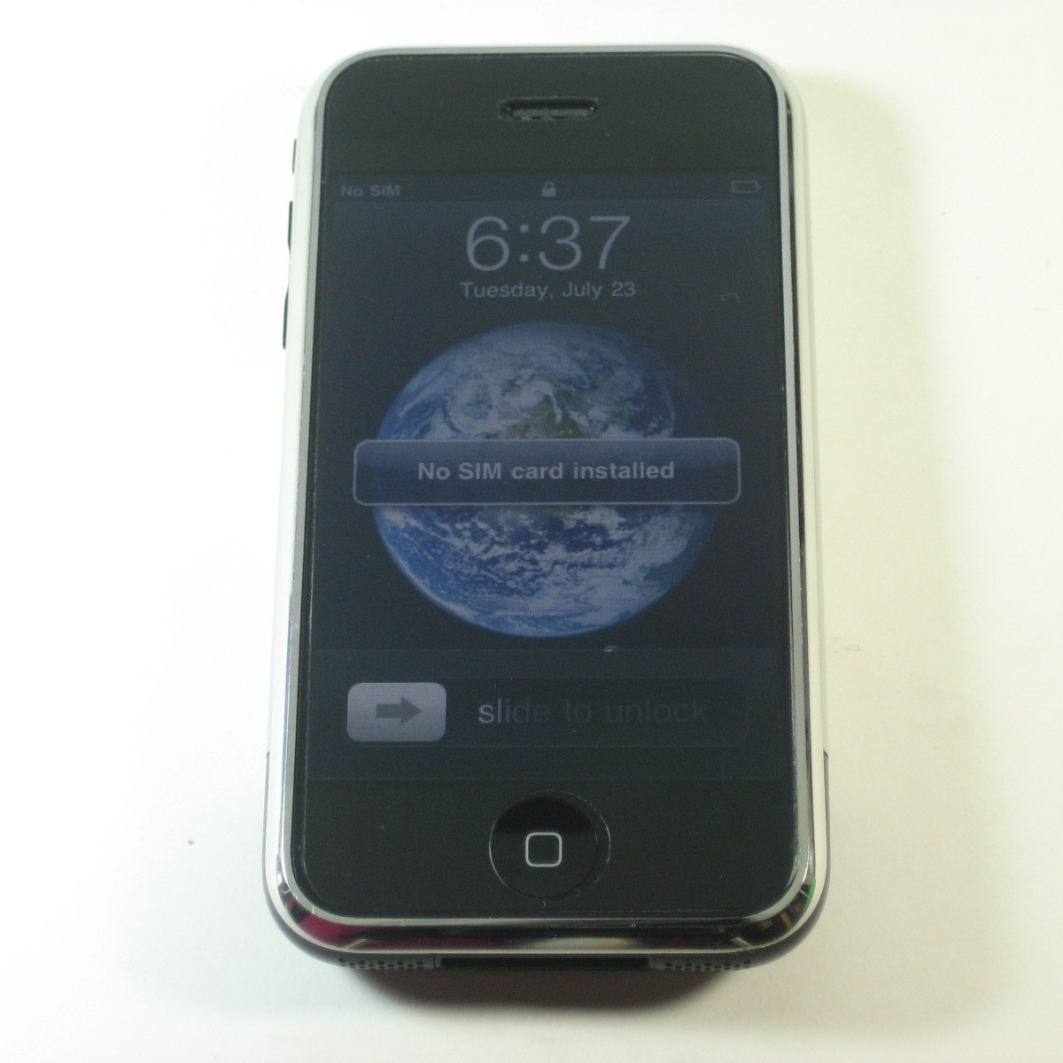 Apple iPhone 1st Generation 4GB Wi-Fi Touch Unlocked GSM ...
