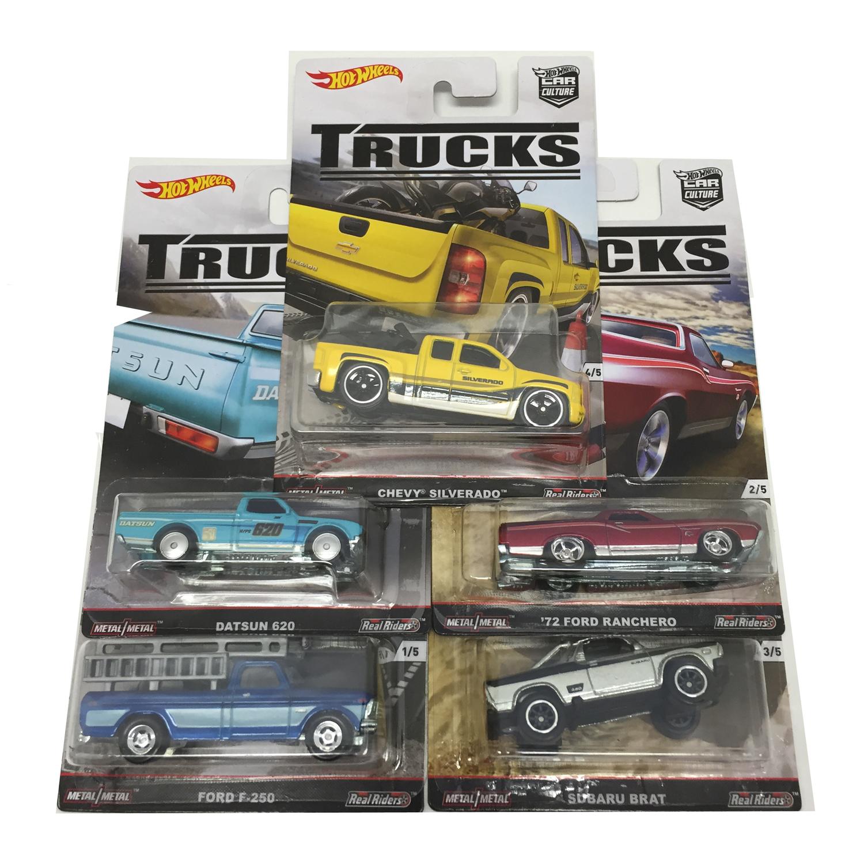 hot wheels 2016 car culture trucks c case set of 5 cars. Black Bedroom Furniture Sets. Home Design Ideas