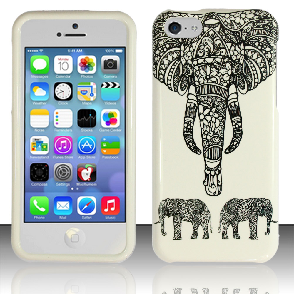 Apple iPhone 5c Phone Case Limited Edition 'Charming Elephant' Cover