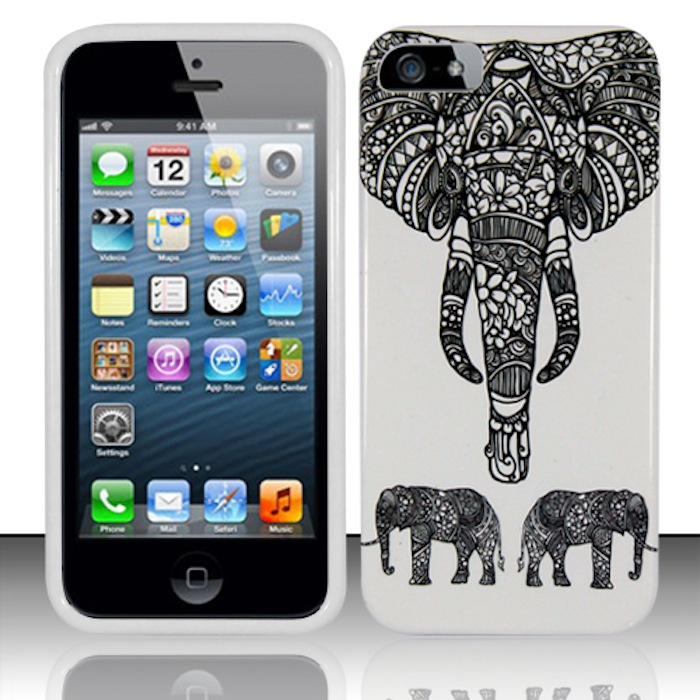 Apple iPhone 5 / 5S Phone Case Limited Edition 'Charming Elephant' Cover