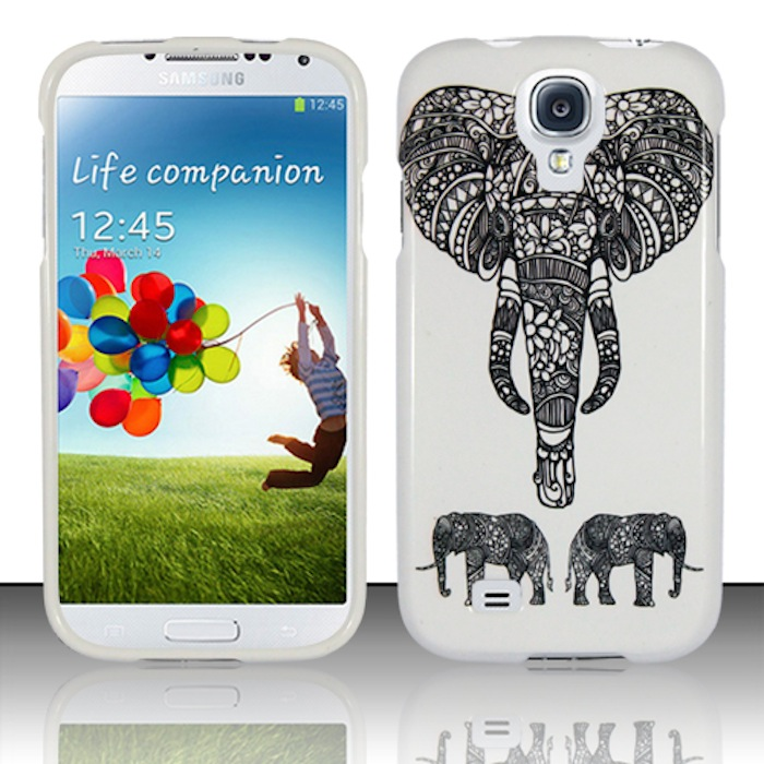 Samsung Galaxy S4 i9500 Phone Case Limited Edition 'Charming Elephant' Cover