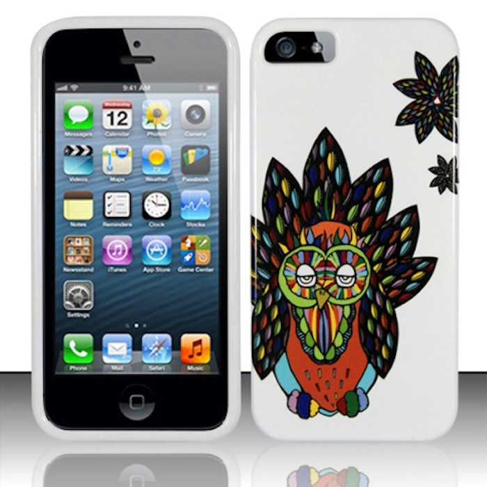 Apple iPhone 5 / 5S Phone Case Limited Edition 'Hipster Owl' Cover