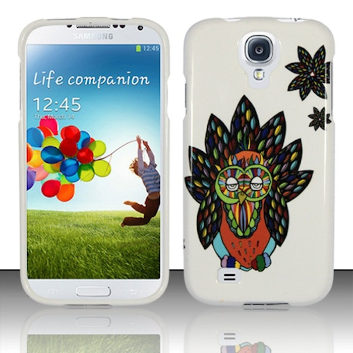Samsung Galaxy S4 i9500 Phone Case Limited Edition 'Hipster Owl' Cover