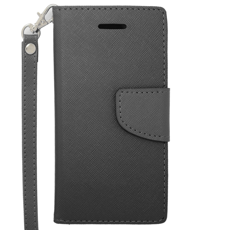 a416359f6a9d74 iPhone 6 Case - Classic Pouch/Wallet w/Credit Card Pockets - Black Pouch  For Apple iPhone 6 (4.7