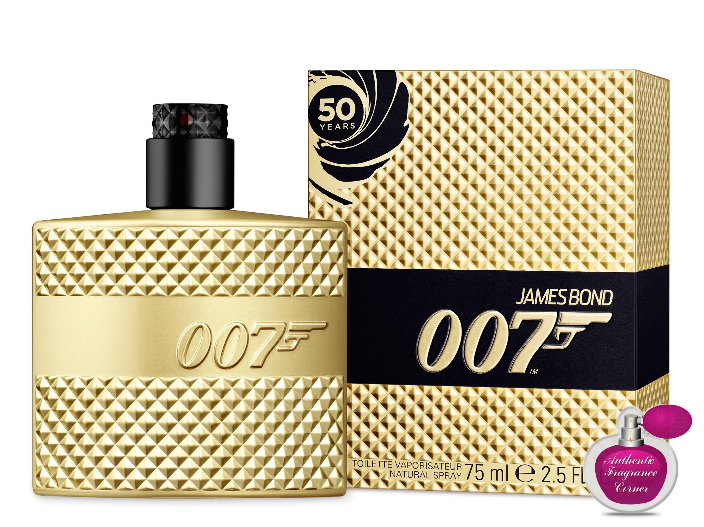 james bond 007 gold limited edition cologne 1 6 oz 50ml. Black Bedroom Furniture Sets. Home Design Ideas