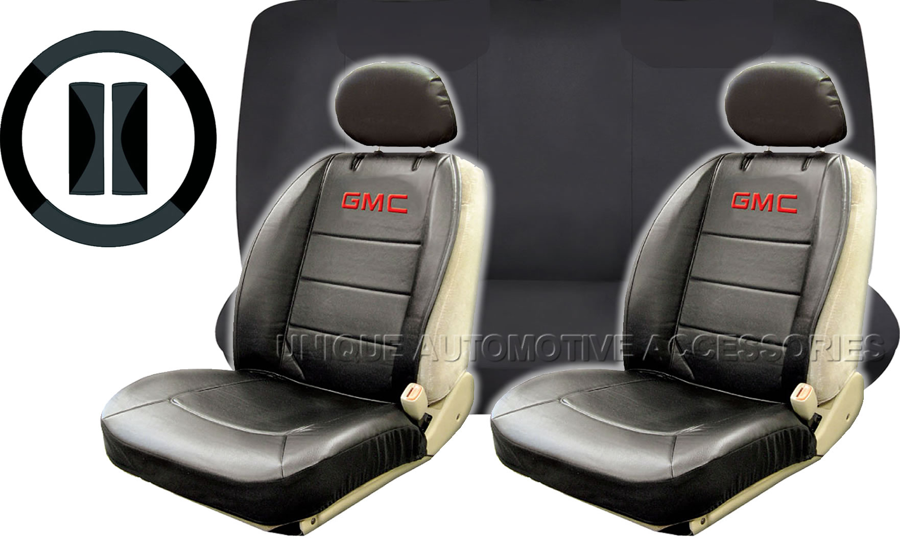 High Back Bench Seat Covers
