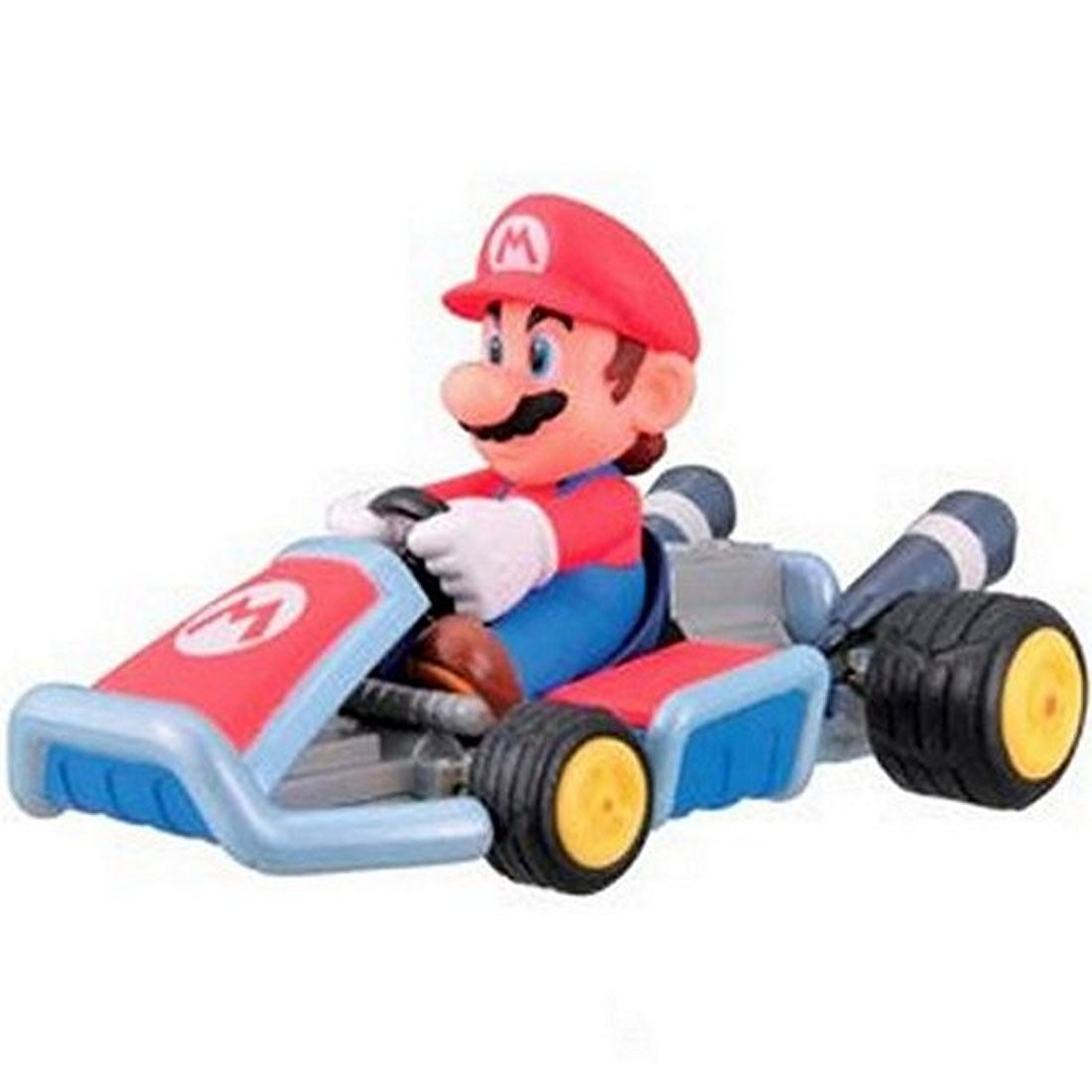 mario kart 7 pullback racer car figure collection 1 mario. Black Bedroom Furniture Sets. Home Design Ideas