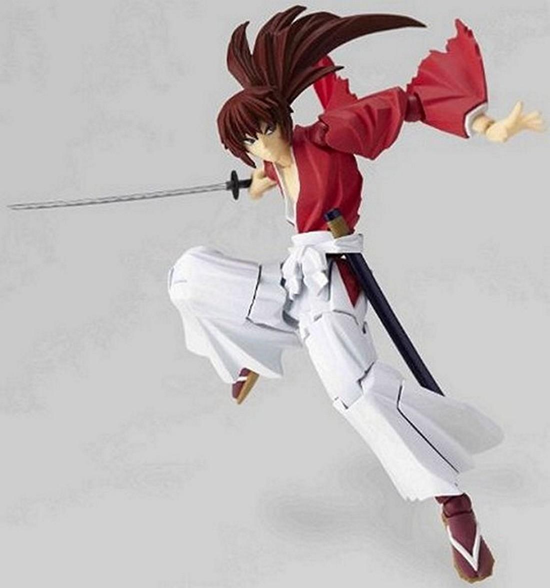 Rurouni Kenshin: Rurouni Kenshin Revoltech Super Poseable Action Figure 109