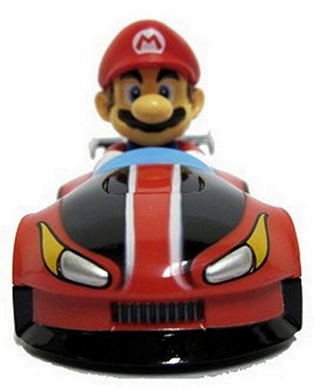 Nintendo mario kart 2010 wii pull back car mini figure 3 mario ebay - Mario kart wii voiture ...